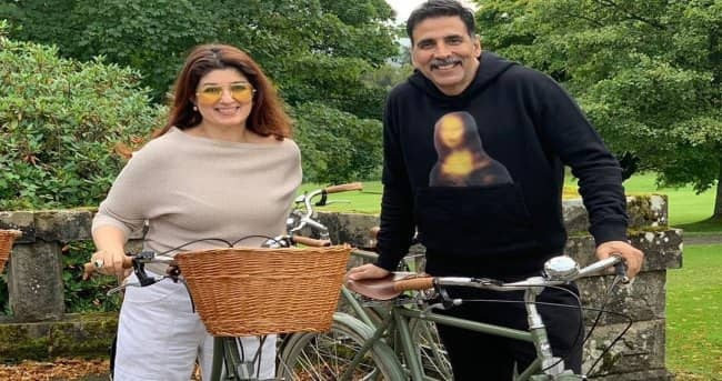 Akshay Kumar's quirky birthday note for wife Twinkle Khanna